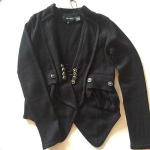 Miss Me Blazer Style Sweater Cardigan